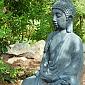 Garden Buddha at Dharmagiri