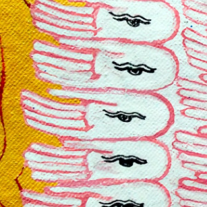 Thousand hands of Avalokiteshvara
