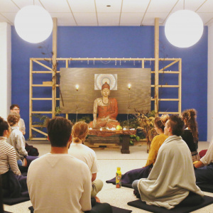 WBC Sangha in shrine room