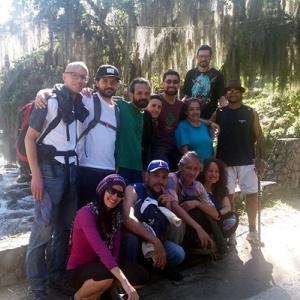 Sangha walk in the Venezualan Andes