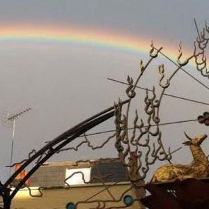 Rainbow over London Buddhist Centre