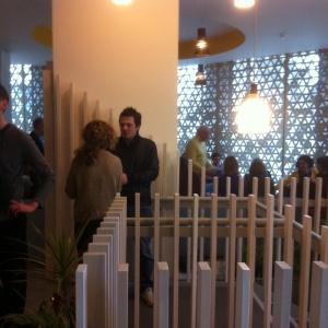 reception area buzzing