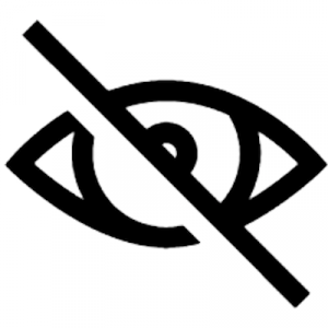 Blindness icon