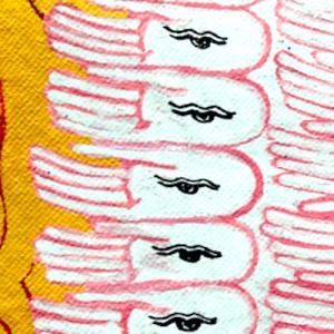 Hands of avalokiteshvara
