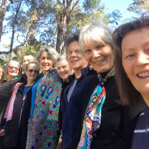 Some of the Dharmachrinis involved in ordination training for women
