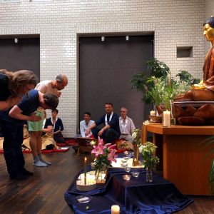 Mitra ceremonies at the Berlin Buddhist Centre