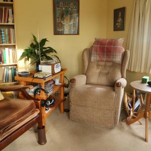 Bhante's armchair