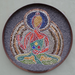 Mosaic designed by Lucia Keidel