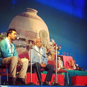 Diksha Bhumi shrine