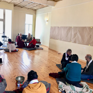 'Creating the Story of Triratna in Spain' workshop