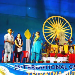 Parami introducing Aryajaya