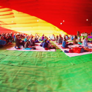 Shrine Tent