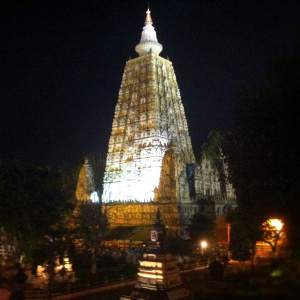 Stupa at the Mahabodhi Temple
