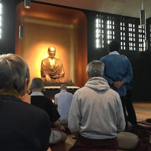 in the shrine room